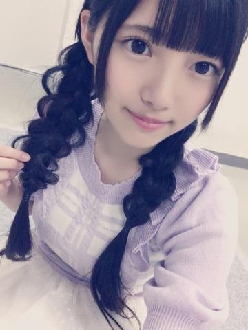 髪型がとっても可愛い上村莉菜の画像
